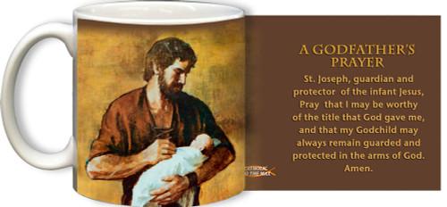 A Godfather's Prayer St. Joseph Mug