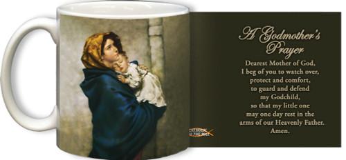 Madonna of the Streets A Godmother's Prayer Mug