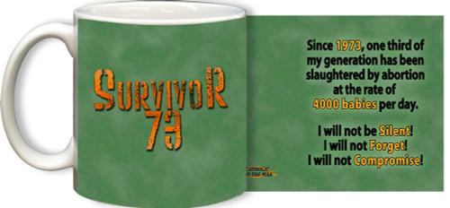 Survivor '73 Mug