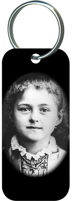St. Therese Child Rectangle Keychain