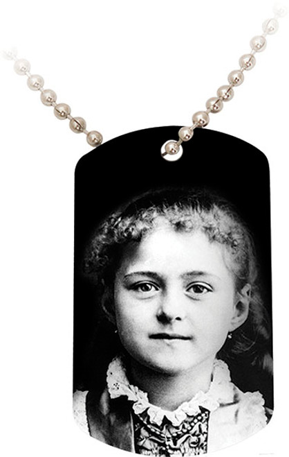 St. Therese Child Dog Tag