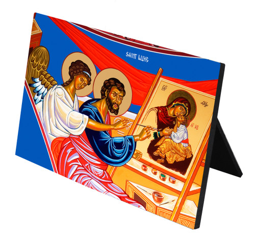 St. Luke Horizontal Desk Plaque