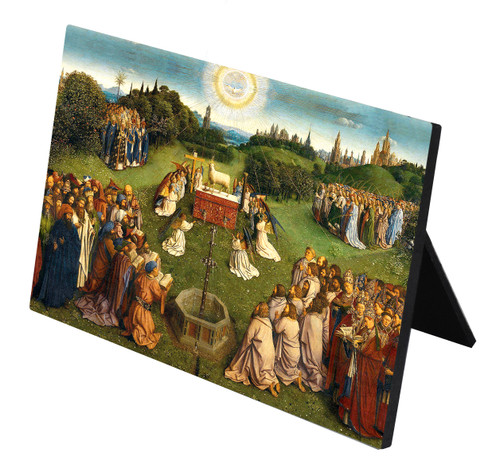 Altar of the Lamb Horizontal Desk Plaque