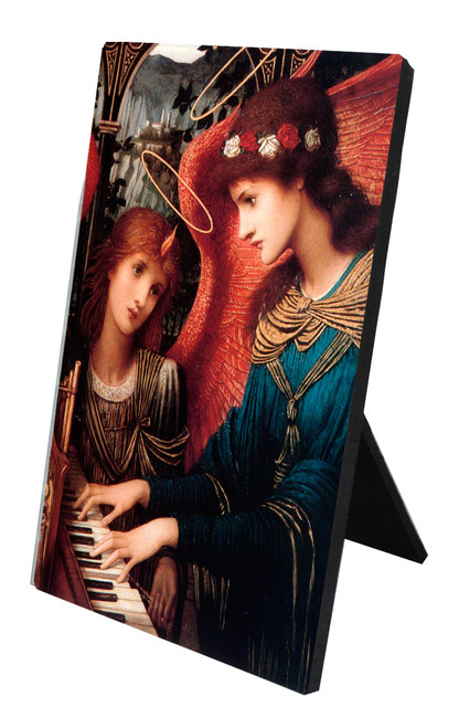 St. Cecilia by Strudwick Vertical Desk Plaque