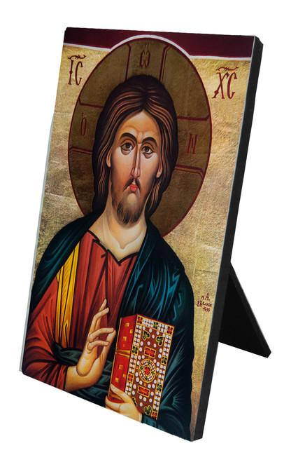 Christ the Teacher Icon Vertical Desk Plaque