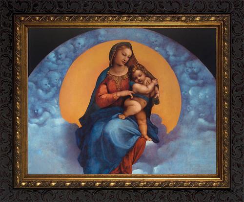 Madonna of Foligno Framed Art