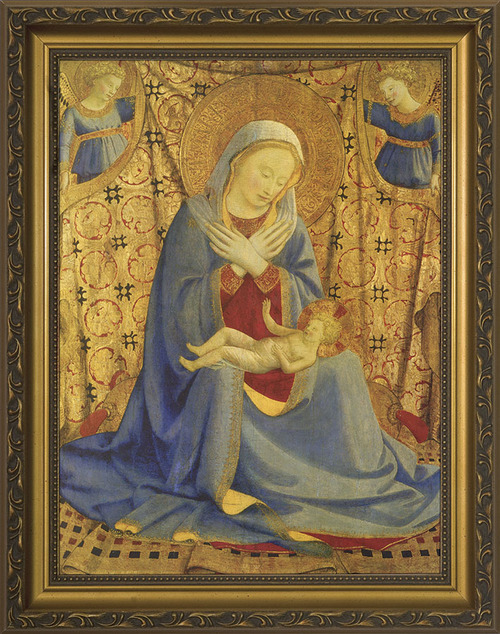 Madonna of Humility by Bl. Fra Angelico