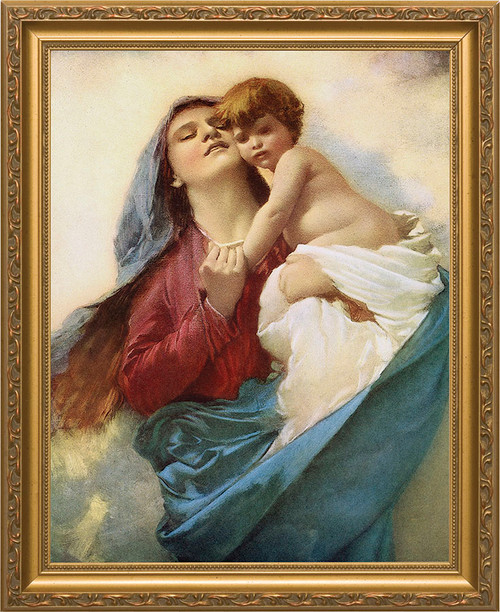 Mother of Purity Framed Art