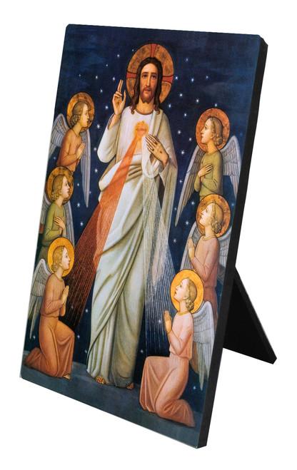 King of Mercy Vertical Desk Plaque