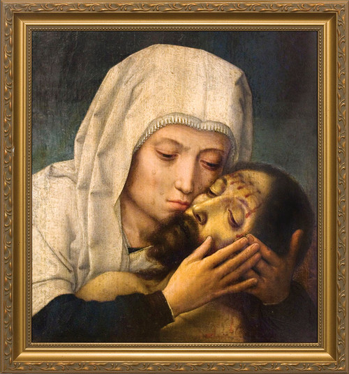 Pieta by Gerard David Framed Art