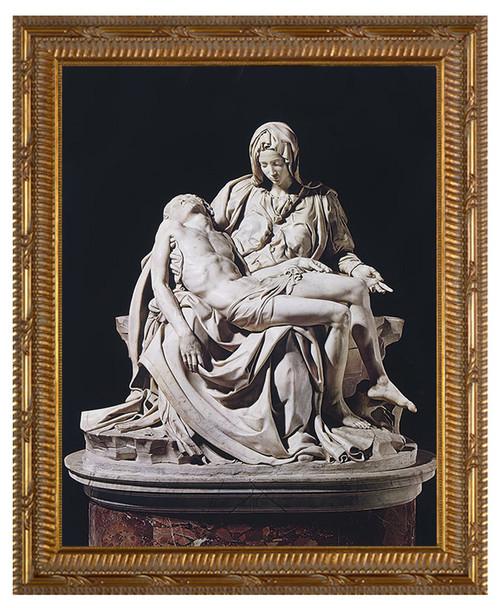 Pieta by Michaelangelo Framed Art