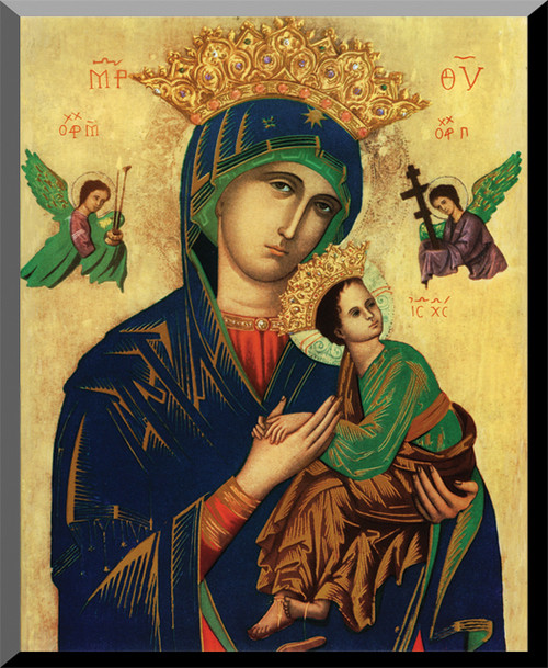 Mother of Perpetual Help Wall Plaque