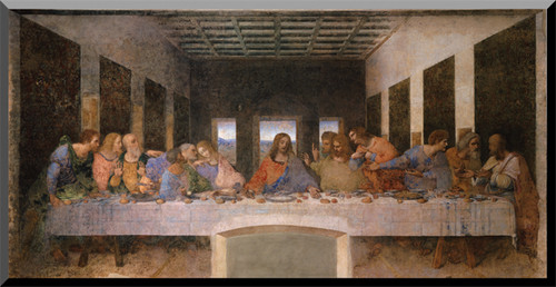 Last Supper by Da Vinci Wall Plaque