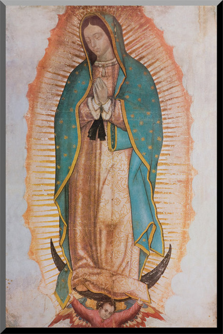 Our Lady of Guadalupe (Traditional) Wall Plaque
