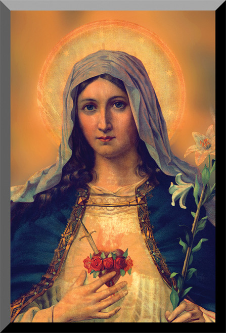 Antique Immaculate Heart