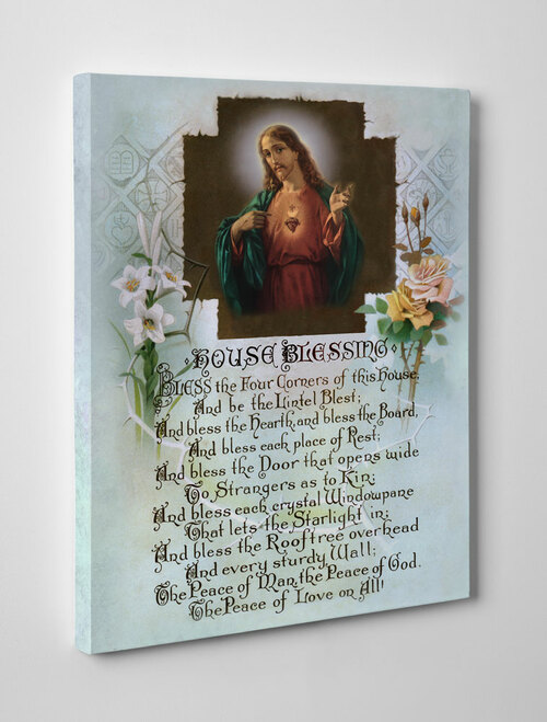 House Blessing Gallery Wrapped Canvas