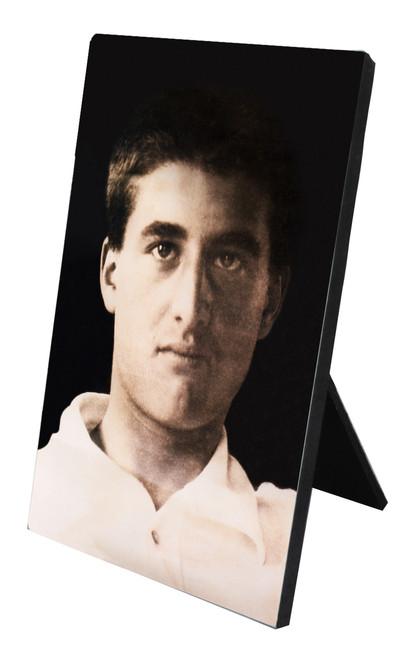 Bl. Pier Giorgio Frassati Portrait Vertical Desk Plaque