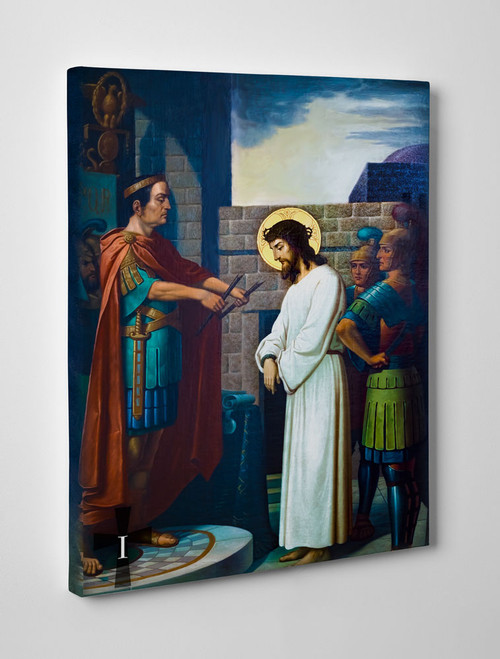 Emmerich Stations of the Cross Gallery Wrapped Canvases (Set of 14)
