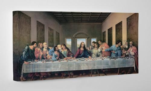 Last Supper by Da Vinci Restored Gallery Wrapped Canvas