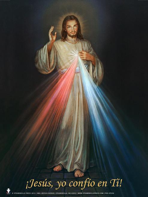 Spanish Divine Mercy Poster