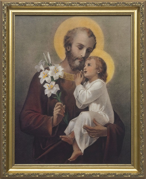 St. Joseph (Younger) Church- Sized Framed Canvas