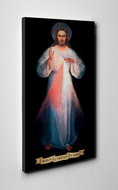 Divine Mercy Vilnius Original Gallery Wrapped Canvas