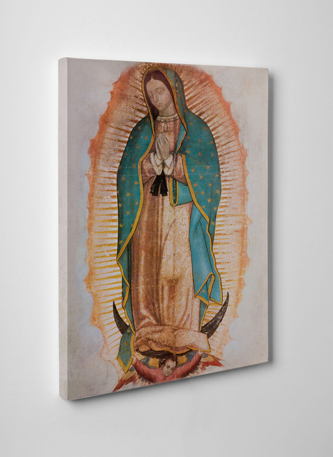 Our Lady of Guadalupe (Traditional) Gallery Wrapped Canvas