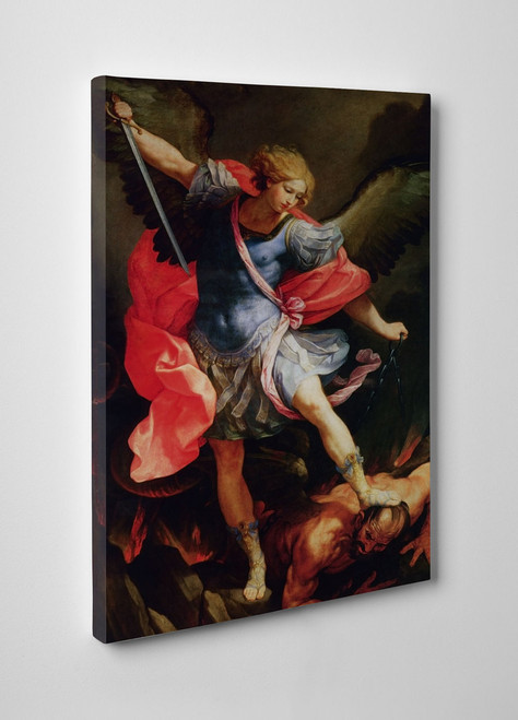 St. Michael the Archangel Gallery Wrapped Canvas