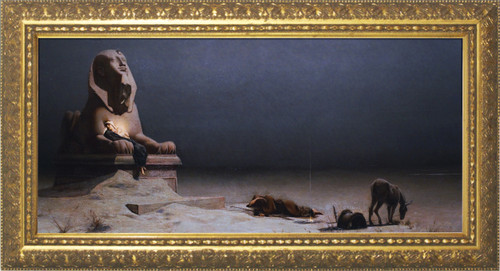 Rest on the Flight into Egypt Gold Framed Art