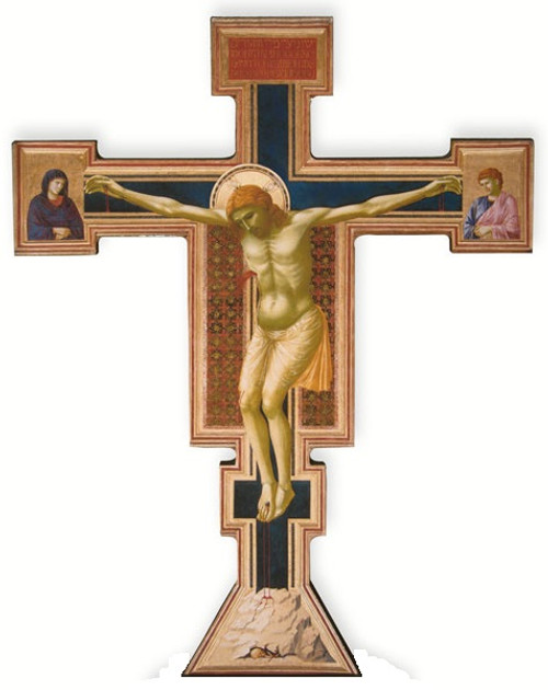 Giotto Crucifix Oversized Wall Cross