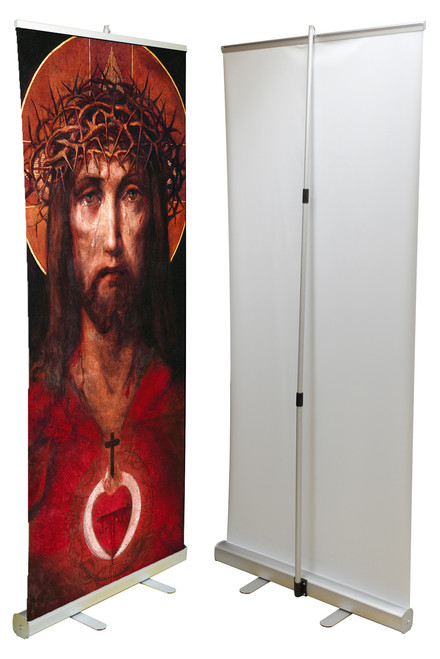 For God So Loved the World Banner Stand