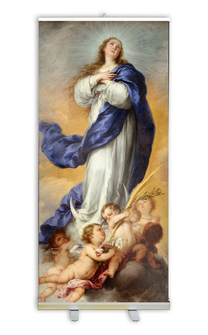 Immaculate Conception Banner Stand