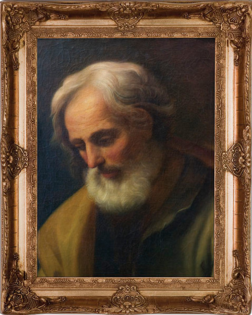 St. Joseph by Reni - Museum Framed Canvas