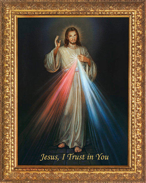 Divine Mercy Church- Sized Framed Canvas