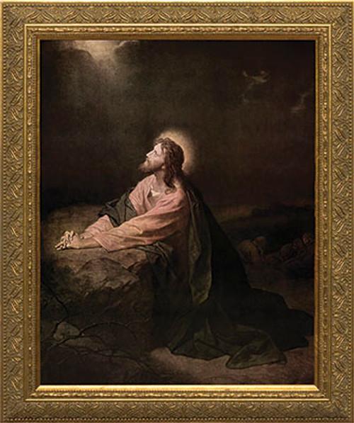 Christ in the Garden of Gethsemane Framed Art