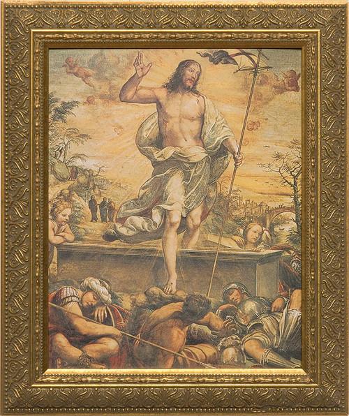Resurrection of Christ Framed Art