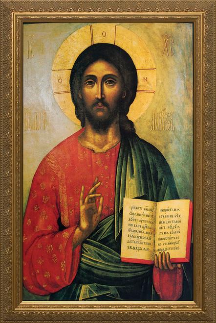 Icon of Christ Framed
