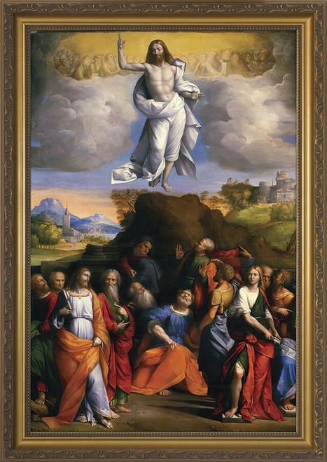 Ascension of Christ Framed Art