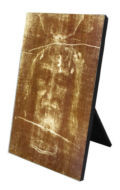 Shroud of Turin Vertical Desk Plaque