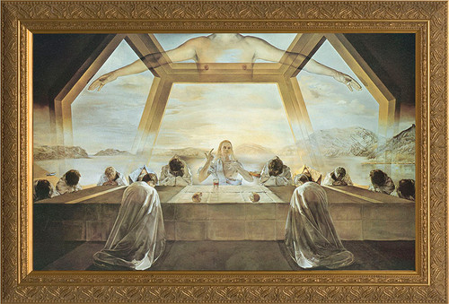Last Supper by Salvador Dali Framed Art
