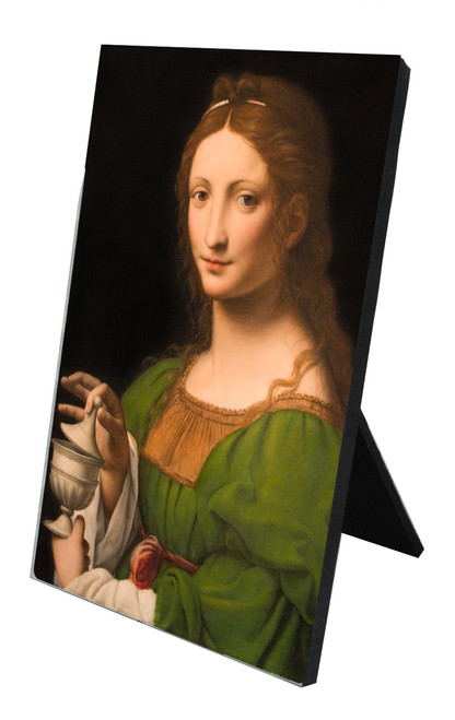 St. Mary Magdalene Vertical Desk Plaque