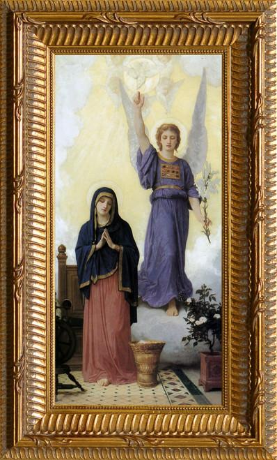 L'Annunciation - Ornate Gold Framed Art