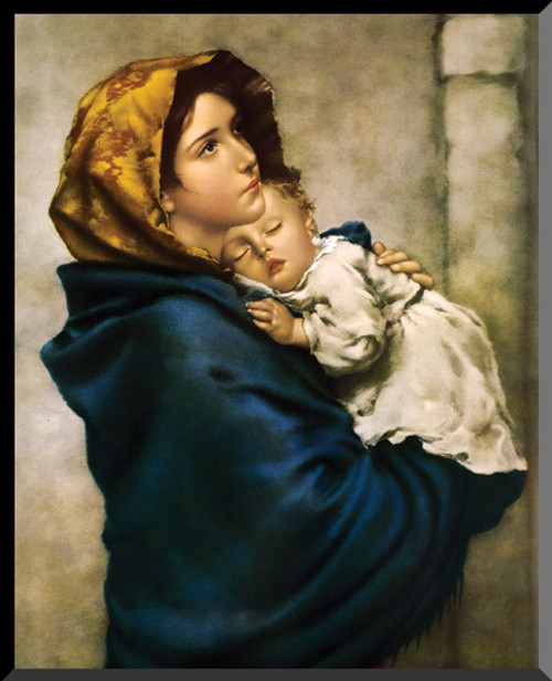 Madonna of the Streets Wall Plaque