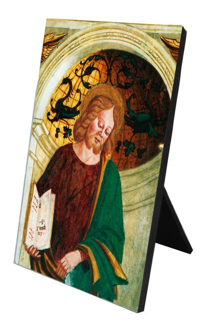 St. Jude Vertical Desk Plaque