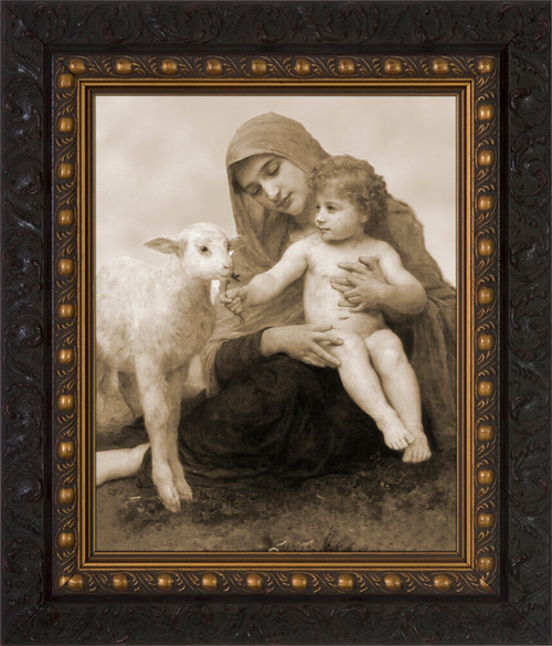 Virgin and the Lamb