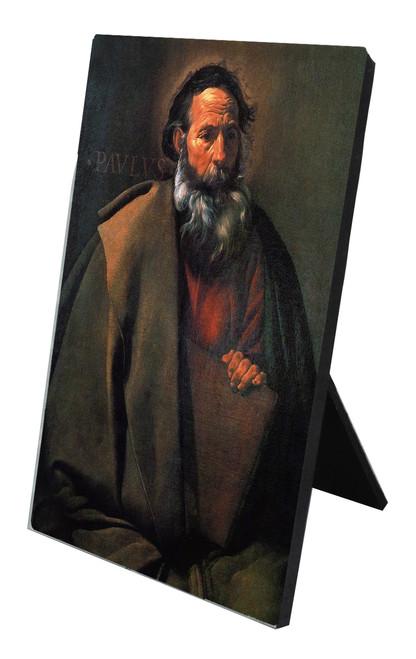 St. Paul by Velazquez Vertical Desk Plaque