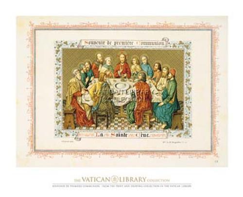 Souvenir de Premiere Communion Paper Print