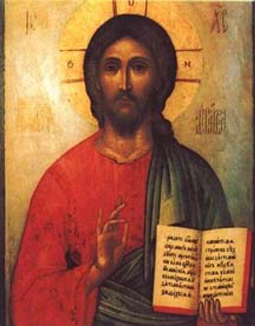 Icon of Christ print
