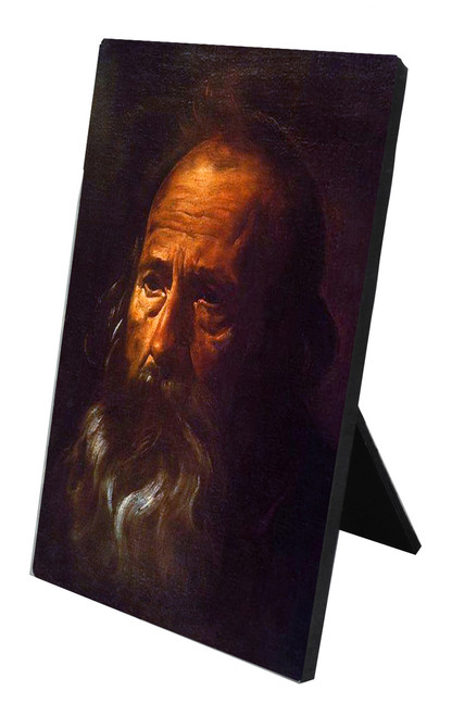St. Paul (Portrait) by Velazquez Vertical Desk Plaque
