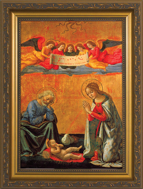 Nativity by Ghirlandaio Framed Art